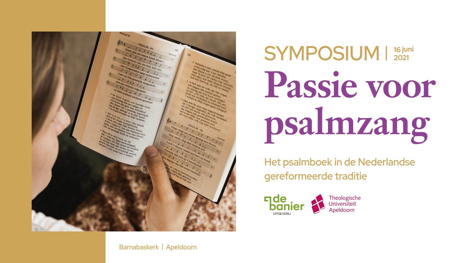 Image Nabestellen: video én boek symposium 'Passie voor psalmzang'